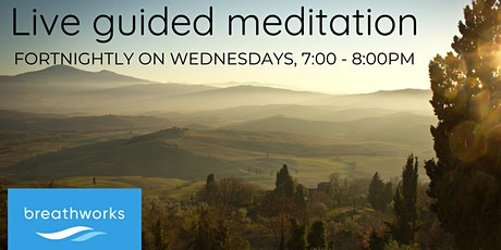 Live guided meditation sessions led by a Breathworks Associate Teacher tickets