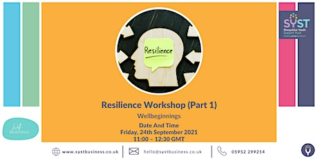 Resilience Workshop (Part 1) tickets