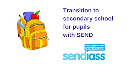 Transition to secondary school for pupils with SEND tickets