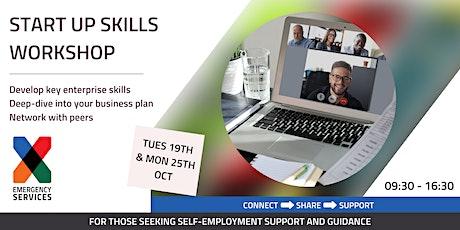 X-Emergency Services - Start Up Skills Virtual Workshop tickets