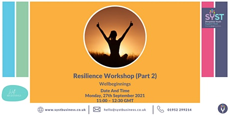 Resilience Workshop (Part 2) tickets