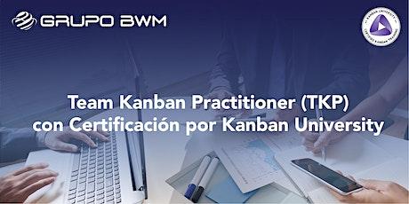 Team Kanban Practitioner® (TKP) entradas