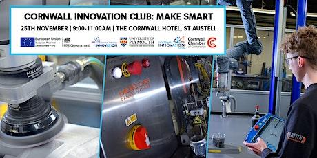 Cornwall Innovation Club: Make Smart tickets