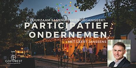 Duurzaam Samenwerken: Participatief Ondernemen met Geert Janssens tickets