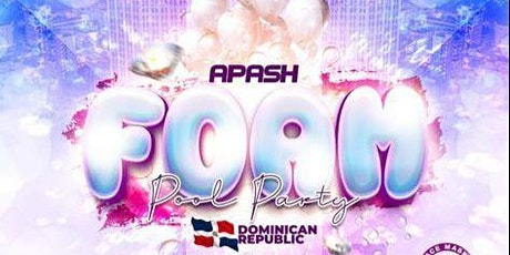APASH FOAM POOL PARTY entradas