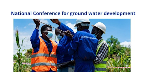 National Conference for ground water development tickets
