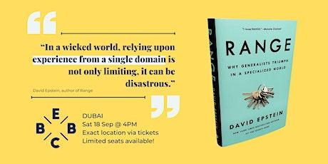EBBC Dubai - Range (David Epstein) tickets