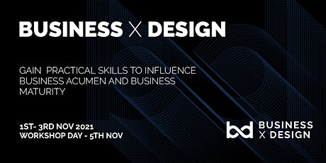 Business X Design tickets