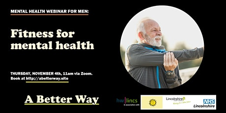 Event for Men: Fitness for Mental Health tickets