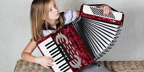Mini accordeon voor kids - 9+ tickets