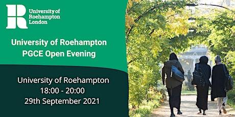 PGCE Open Evening - Wednesday 29th September 2021 tickets