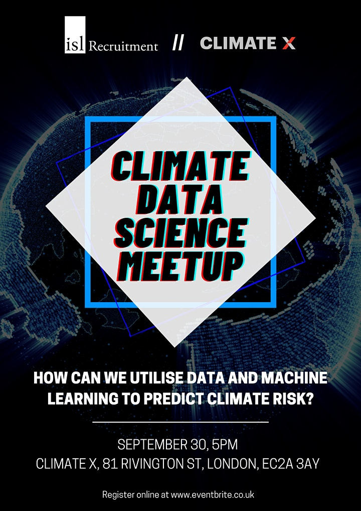 Climate Data Science Meetup image
