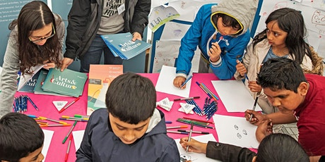 Reimagining My City | Workshop for 7-13 year olds and their carers tickets