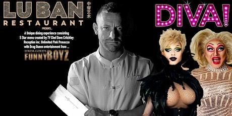 FUNNYBOYZ LIVERPOOL presents DIVAS @ Lu Ban Restaurant tickets