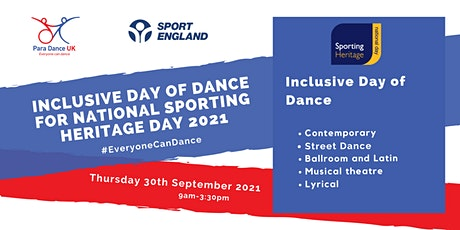 Inclusive Day of Dance for Sporting Heritage Day 2021 tickets
