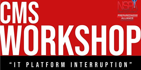 2021 IT Interruption Tabletop Exercise tickets