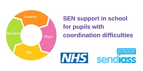 SEN support in schools for pupils with coordination difficulties tickets