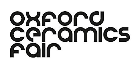 Oxford Ceramics Fair 2021 tickets