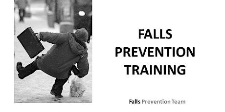 Community Falls Awareness Training tickets