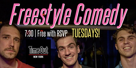 Freestyle Comedy at The Bowery Electric! EVERY TUESDAY @ 8PM tickets