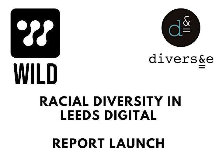 Racial Diversity in Leeds Digital - Report Launch image