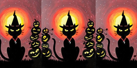 Easely Does It -Halloween Cat- with Toni + 14 day recording tickets