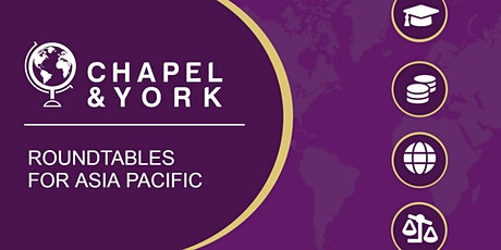 Chapel & York Live: International Tax and Legal Issues (Asia Pacific) tickets