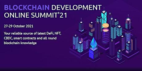 Blockchain-Tech Summit'21 entradas