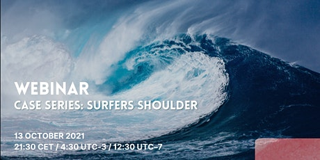 Surfing Medicine International Webinar - Surfer's shoulder tickets