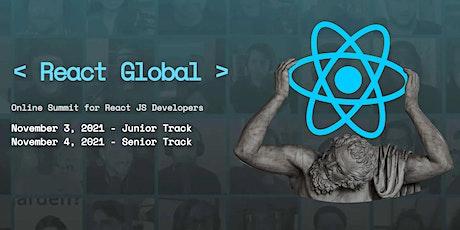 < React Global > Online Summit 2021 tickets