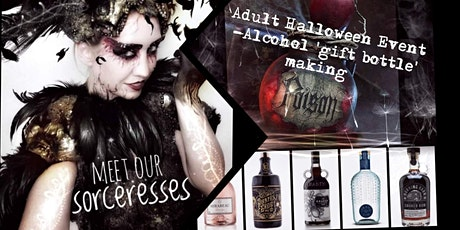 Halloween 'Witch CRAFT' Event- 'Potion Bottle' Making( Alcohol gift bottle) tickets
