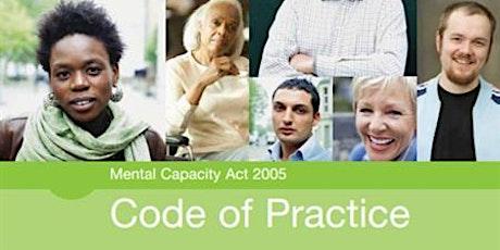 Mental Capacity Act Module two webinar tickets