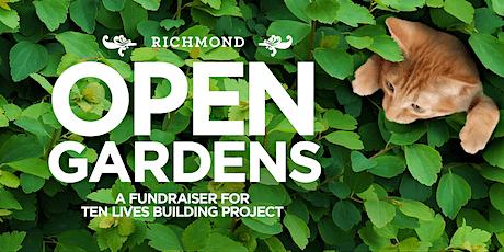 Richmond Open Gardens Fundraiser for Ten Lives tickets