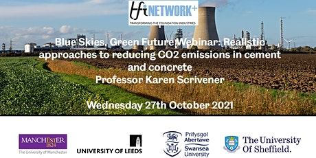 Realistic approaches to reducing CO2 emissions from Cement and Concrete tickets