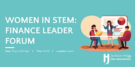 Women in STEM – Finance Leader Forum tickets