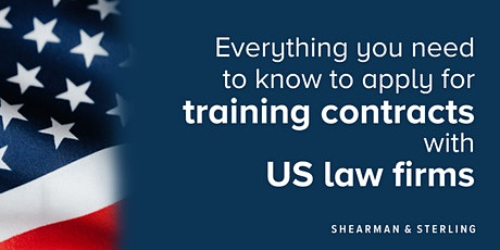 How to apply for training contracts with US firms - University of Bristol tickets