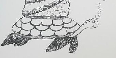 Artful Doodles Drawing Class (UK Time) tickets