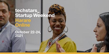 Techstars Startup Weekend Harare Online boletos