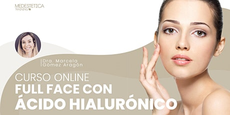 Curso Full Face con Ácido Hialurónico entradas
