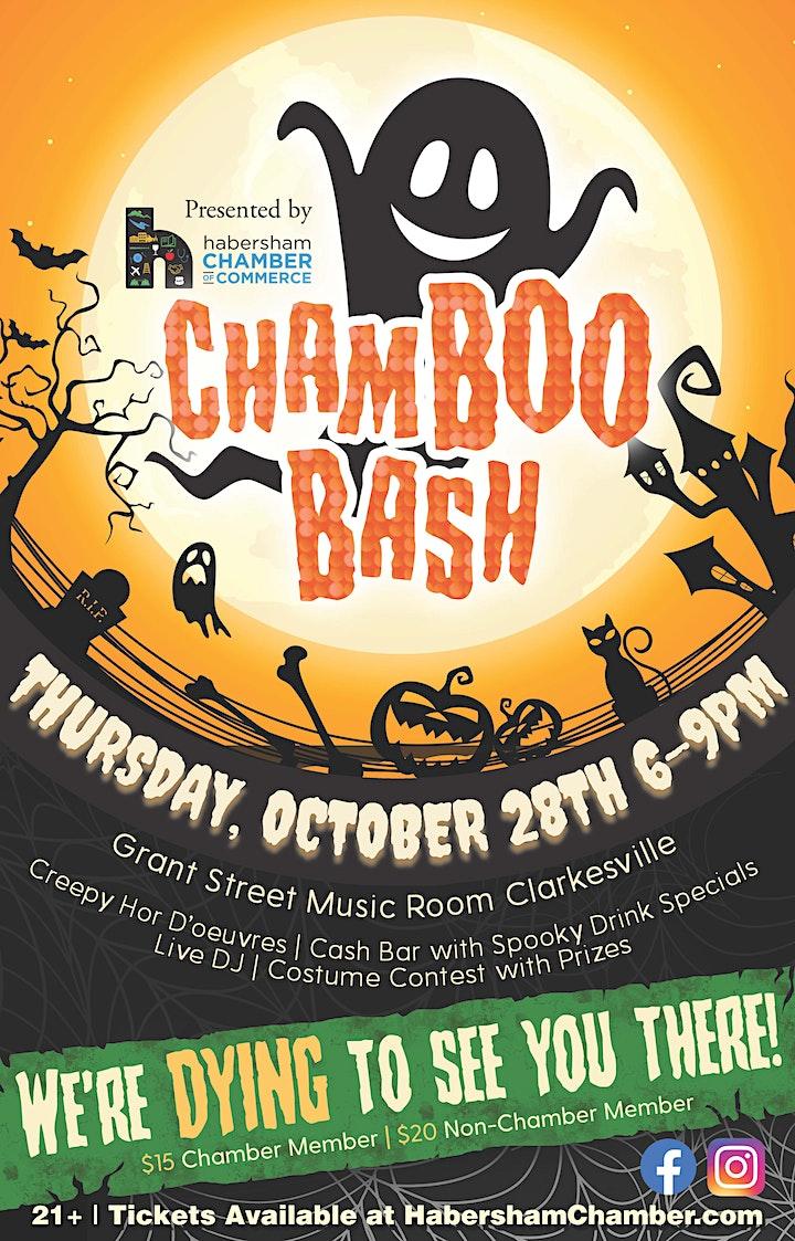 ChamBOOBash Halloween Ball image