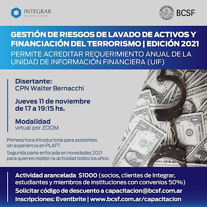 Imagen de GESTIÓN DE RIESGOS DE LAVADO DE ACTIVOS Y FINANCIACIÓN DEL TERRORISMO