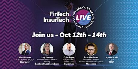 FinTech & InsurTech Live tickets