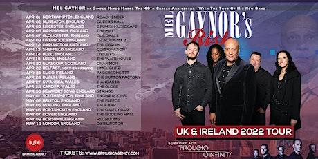 Mel Gaynor's Risk + Through Infinity @ Queens Hall, Nuneaton, UK tickets