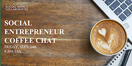 Social Entrepreneur Coffee Chat with Jasmine Burton tickets