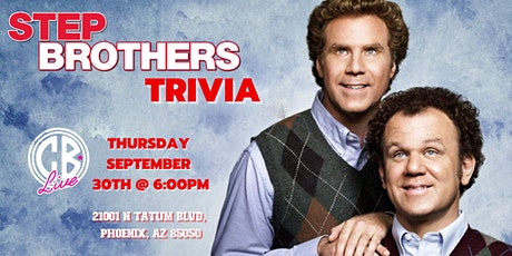 Step Brothers Trivia at CB Live tickets