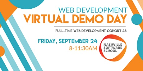 NSS Virtual Demo Day: Web Development Cohort 48 tickets