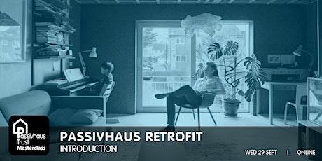 Passivhaus Retrofit Masterclass series: Introduction tickets
