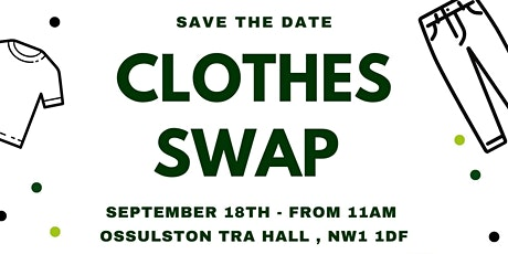 Somers Town Clothes Swap tickets