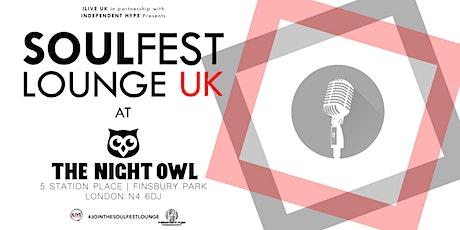 Soulfest Lounge UK tickets