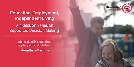 Education, Employment, Independent Living with Jonathan Martinis tickets